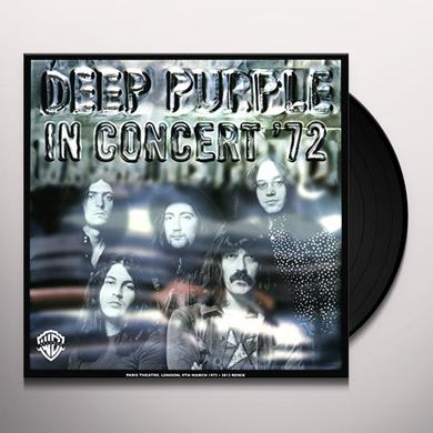 Deep Purple IN CONCERT 72 Vinyl Record