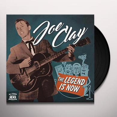 Joe Clay LEGEND IS NOW Vinyl Record