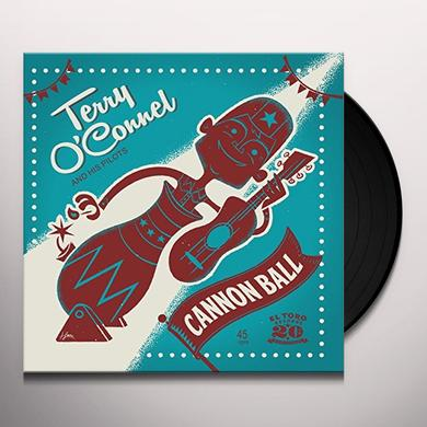 Terry O'Connel & His Pilots CANNON BALL Vinyl Record
