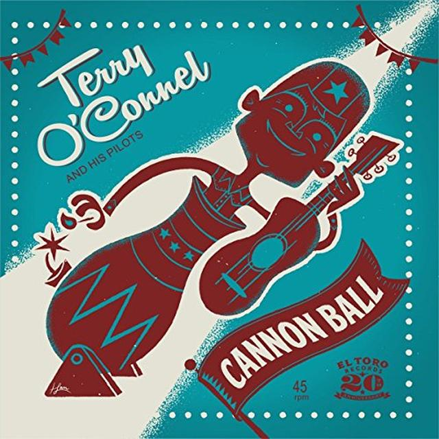 Terry O'Connel & His Pilots CANNON BALL Vinyl Record - Spain Import