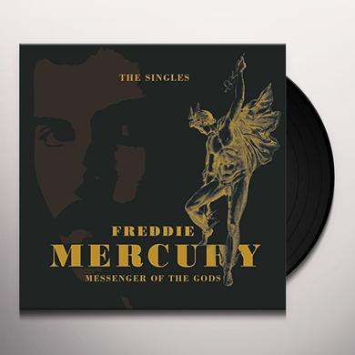Freddie Mercury MESSENGER OF THE GODS: SINGLES COLLECTION (BOX) Vinyl Record