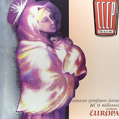 CCCP FEDELI ALLA LINEA CANZONI PREGHIERE DANZE Vinyl Record