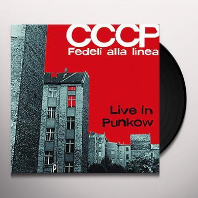CCCP FEDELI ALLA LINEA LIVE IN PUNKOW Vinyl Record