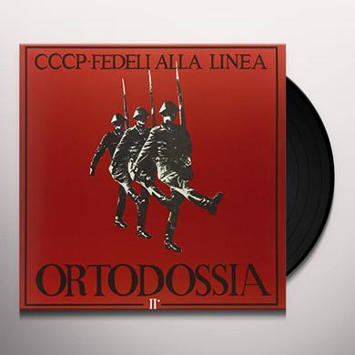 CCCP FEDELI ALLA LINEA ORTODOSSIA II Vinyl Record