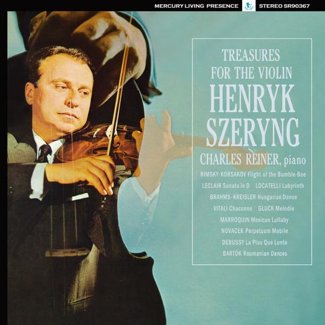Henryk Szeryng TREASURES FOR THE VIOLIN Vinyl Record - Asia Import