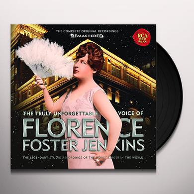 Florence Foster Jenkins TRULY UNFORGETTABLE VOICE OF FLORENCE FOSTER Vinyl Record