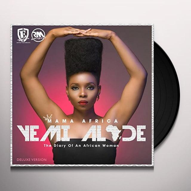 Yemi Alade MAMA AFRICA: DIARY OF AN AFRICAN WOMAN Vinyl Record - Deluxe Edition, UK Import