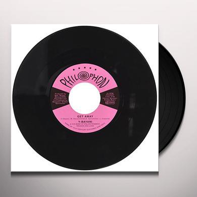 Y-BAYANI GET AWAY Vinyl Record