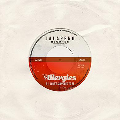 ALLERGIES LOVE'S SUPPOSED TO BE Vinyl Record