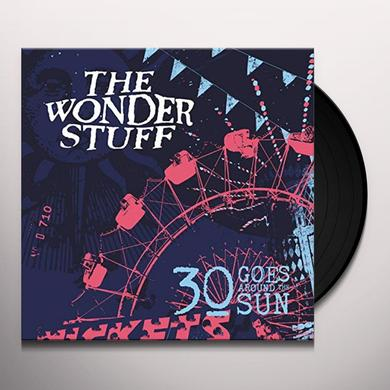 Wonder Stuff 30 GOES AROUND THE SUN Vinyl Record - UK Import