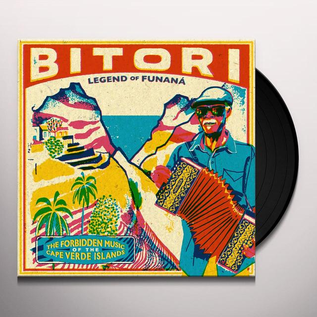 BITORI LEGEND OF FUNANA: FORBIDDEN MUSIC OF CAPE VERDE Vinyl Record