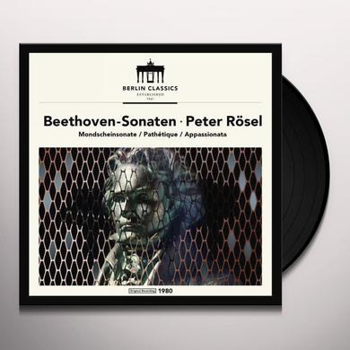 Beethoven / Peter Rosel BEETHOVEN: PIANO SONATAS Vinyl Record - UK Import