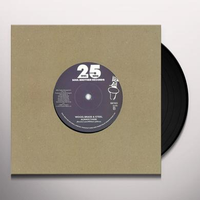 BRASS STEEL & WOOD HEY WHATS THAT YOU SAY / ALWAYS THERE Vinyl Record - UK Import