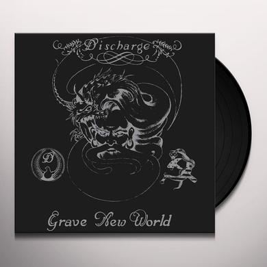 Discharge GRAVE NEW WORLD Vinyl Record - UK Import