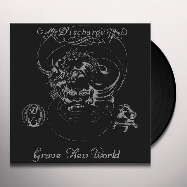 Discharge GRAVE NEW WORLD Vinyl Record - UK Import