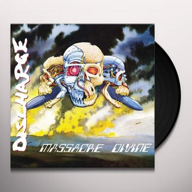 Discharge MASSACRE DIVINE Vinyl Record - UK Import