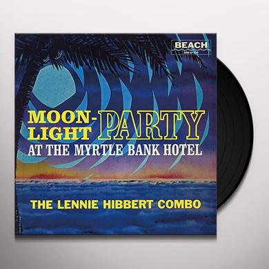 Lennie Hibbert MOONLIGHT PARTY Vinyl Record