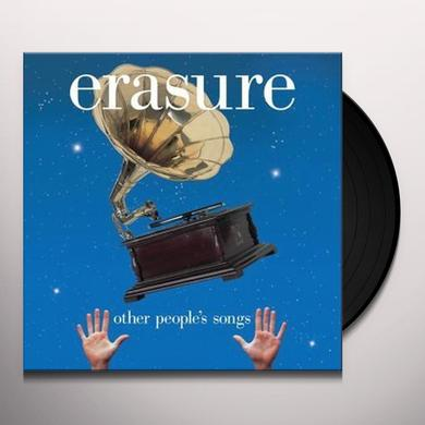 Erasure OTHER PEOPLE'S SONGS Vinyl Record
