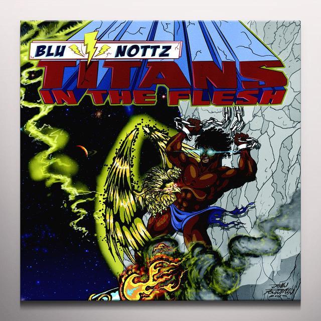 Blu & Nottz TITANS IN THE FLESH (EP) Vinyl Record - Yellow Vinyl