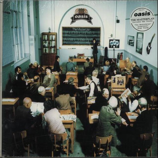 Oasis MASTERPLAN Vinyl Record - Gatefold Sleeve