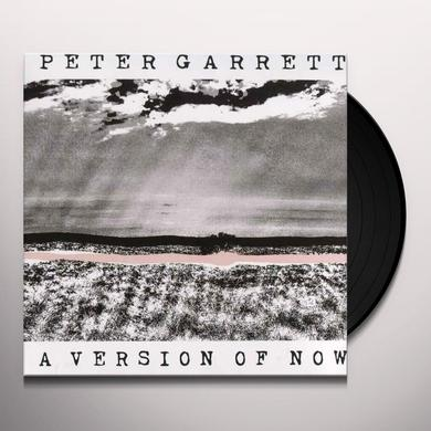 Peter Garrett VERSION OF NOW Vinyl Record - Australia Import