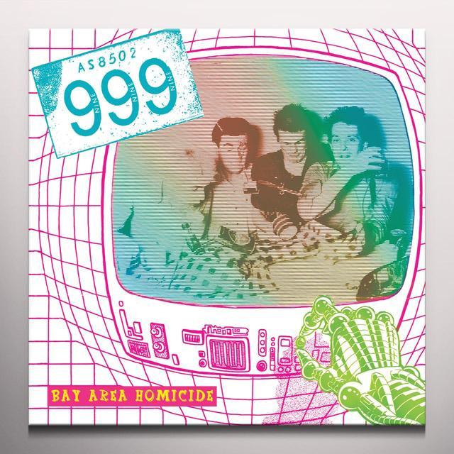 999 BAY AREA HOMICIDE Vinyl Record - Limited Edition, Yellow Vinyl