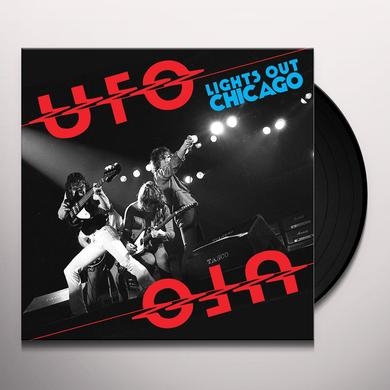 Ufo LIGHTS OUT CHICAGO Vinyl Record - Limited Edition