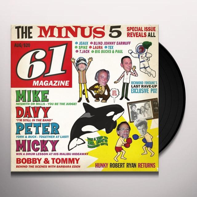 Minus 5 OF MONKEES & MEN Vinyl Record