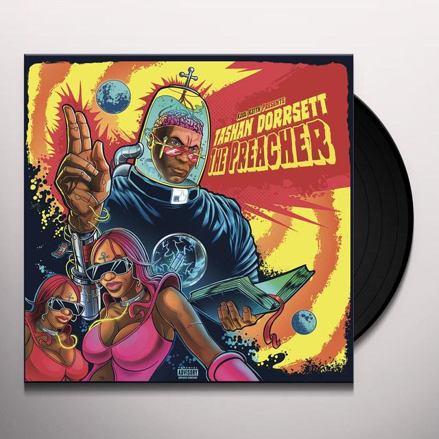KOOL KEITH PRESENTS: TASHAN DORRSETT THE PREACHER Vinyl Record