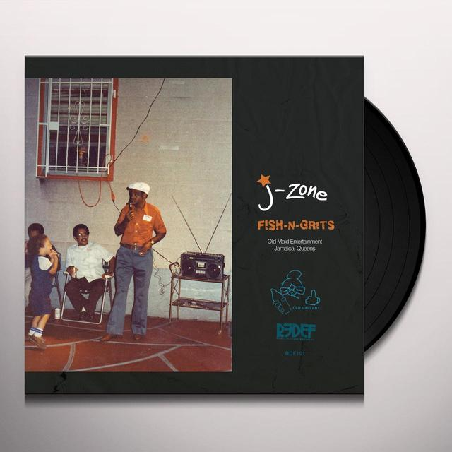 J-Zone FISH-N-GRITS Vinyl Record