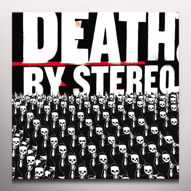 Death By Stereo INTO THE VALLEY OF DEATH Vinyl Record - Black Vinyl, Limited Edition, Purple Vinyl, Red Vinyl
