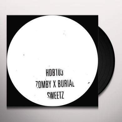 ZOMBY & BURIAL SWEETZ Vinyl Record - 10 Inch Single