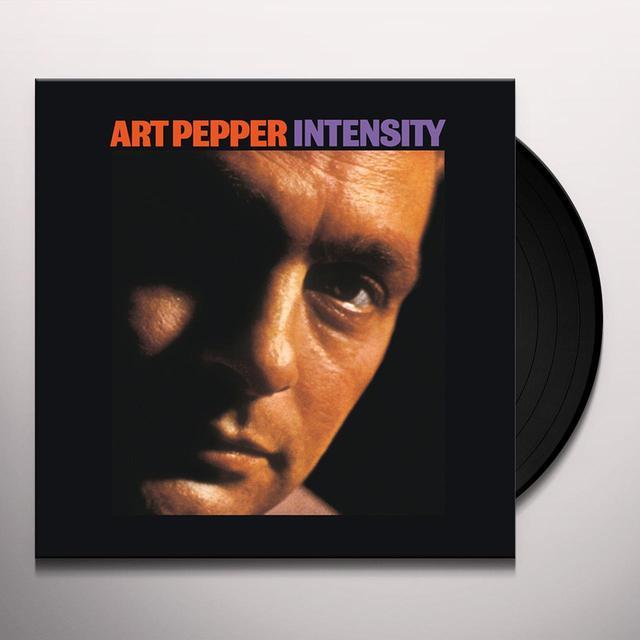 Art Pepper INTENSITY Vinyl Record