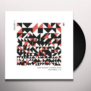 Sven Kacirek / Thomas Klein RHYTHMUS I-IV Vinyl Record