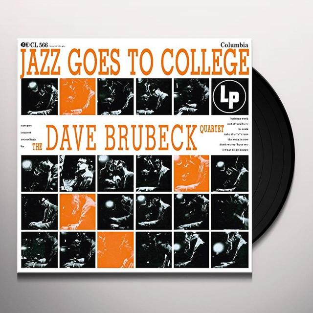 Dave Brubeck JAZZ GOES TO COLLEGE Vinyl Record - Holland Import