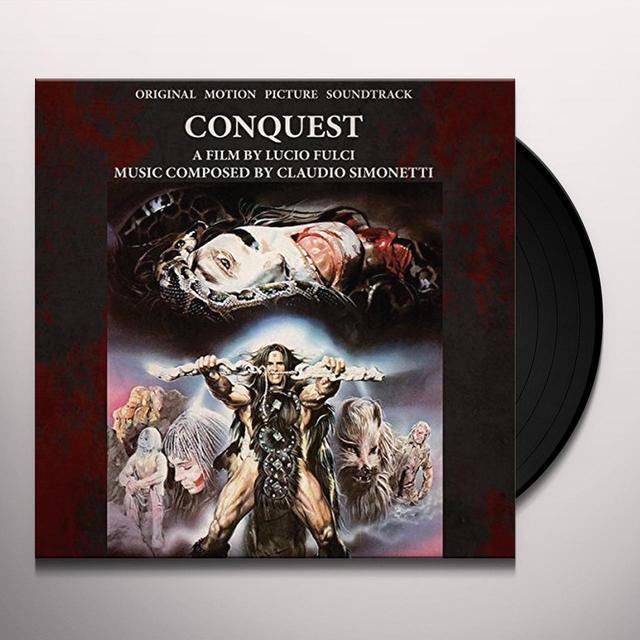 Claudio Simonetti CONQUEST - O.S.T. Vinyl Record