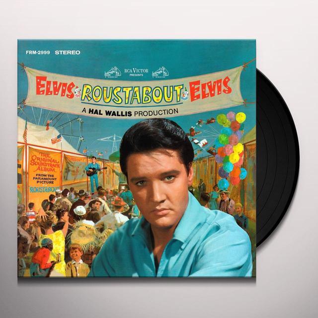Elvis Presley ROUSTABOUT Vinyl Record - Gatefold Sleeve, Limited Edition, 180 Gram Pressing, Anniversary Edition