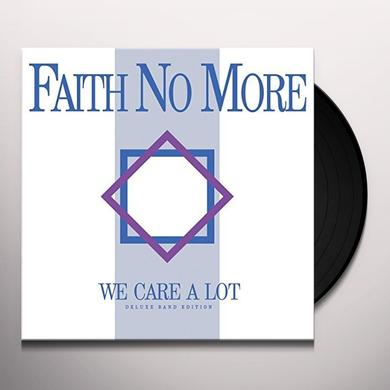 Faith No More WE CARE A LOT Vinyl Record