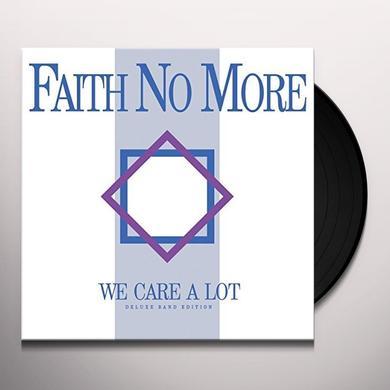 Faith No More WE CARE A LOT Vinyl Record - Gatefold Sleeve, 180 Gram Pressing, Remixes