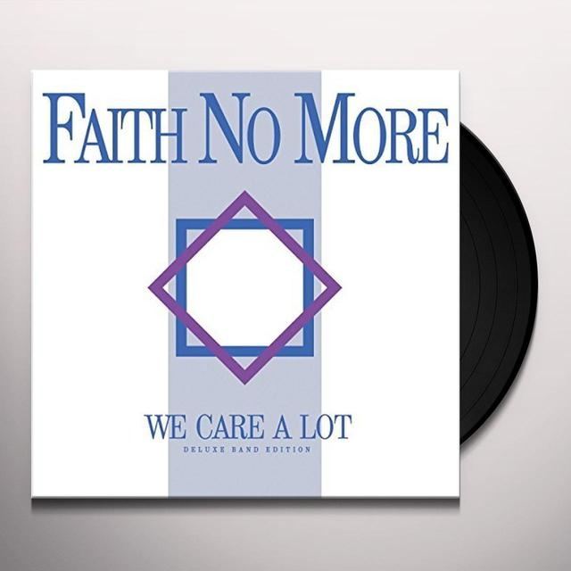 Faith No More WE CARE A LOT Vinyl Record - Gatefold Sleeve, 180 Gram Pressing, Remixes