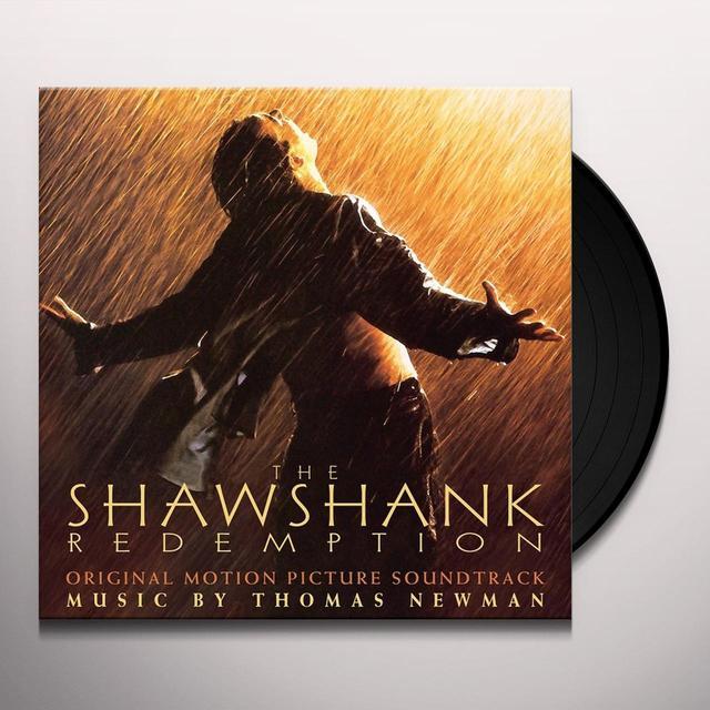 Thomas Newman SHAWSHANK REDEMPTION - O.S.T. Vinyl Record - Gatefold Sleeve, 180 Gram Pressing