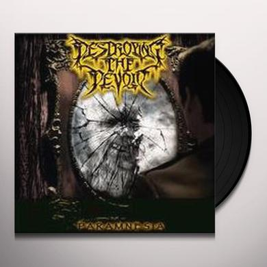 DESTROYING THE DEVOID PARAMNESIA Vinyl Record
