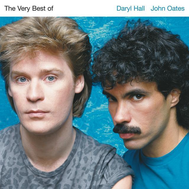 Hall & Oates VERY BEST OF DARRYL HALL & JOHN OATES Vinyl Record - Blue Vinyl, Gray Vinyl