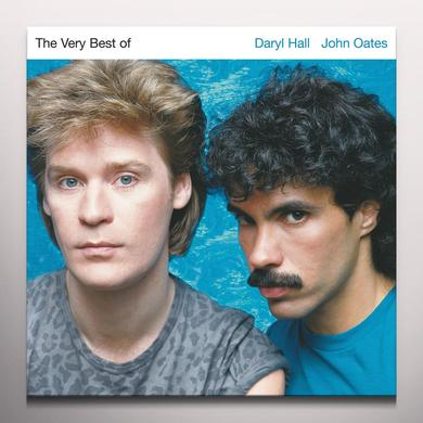 Hall & Oates VERY BEST OF DARRYL HALL & JOHN OATES Vinyl Record - Blue Vinyl, Gray Vinyl
