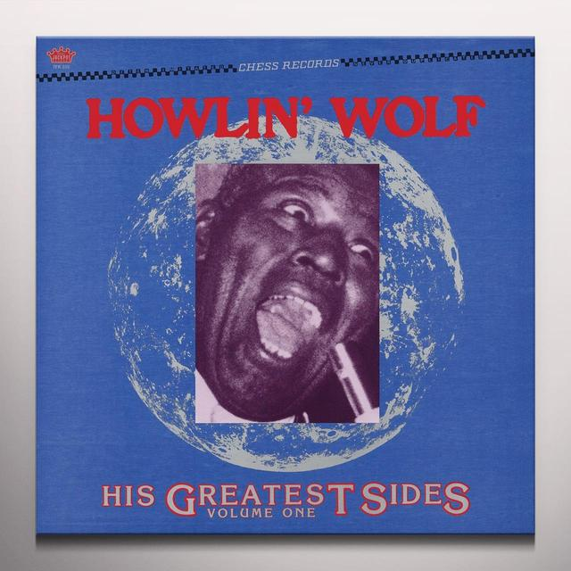 Howlin Wolf HIS GREATEST SIDES VOL. 1 Vinyl Record - Colored Vinyl, Limited Edition