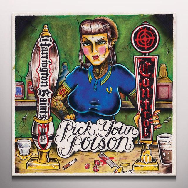 Control HARRINGTON SAINTS / PICK YOUR POISON Vinyl Record - Green Vinyl, Digital Download Included