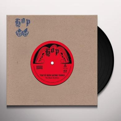 BLACK BROTHERS YOU'VE BEEN SAYING THINGS / EVERYDAY Vinyl Record