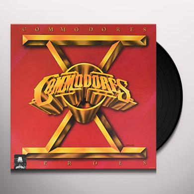 Commodores HEROES Vinyl Record