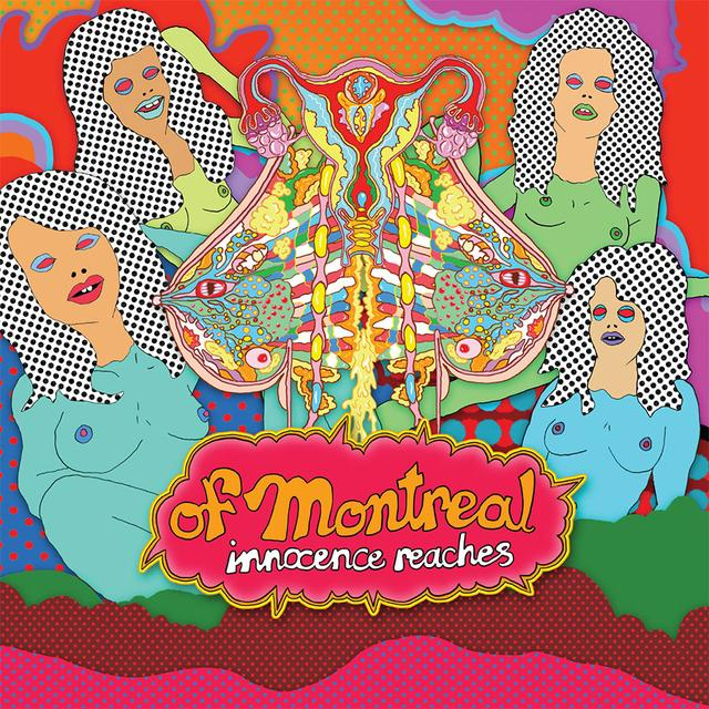 Of Montreal INNOCENCE REACHES Vinyl Record - Blue Vinyl, Colored Vinyl, 180 Gram Pressing, Digital Download Included