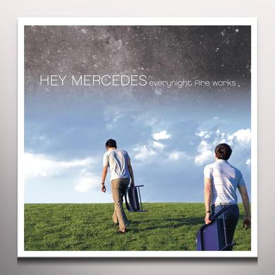 Hey Mercedes EVERYNIGHT FIRE WORKS Vinyl Record - Colored Vinyl, Digital Download Included